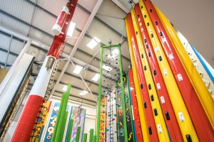 Cornwall's only Clip n Climb wall
