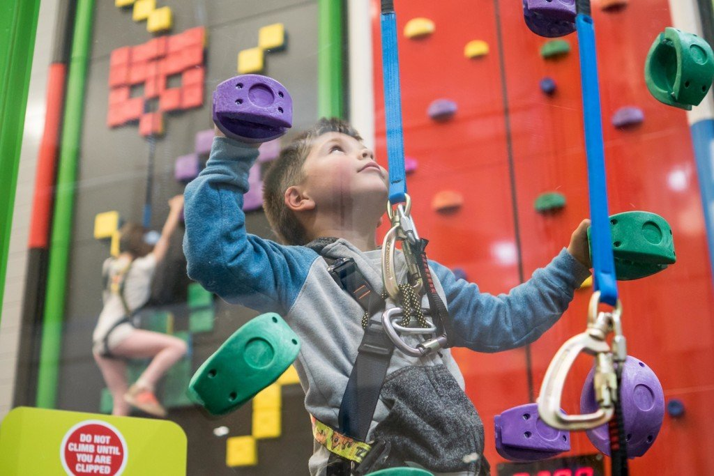 Indoor Climbing Wall Cornwall