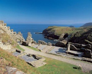 Tintagel Castle by Paul Watts
